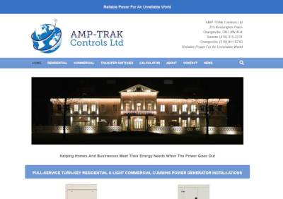 amptrak website screenshot