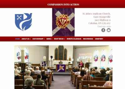 st johns anglican church orangeville website mini-screenshot