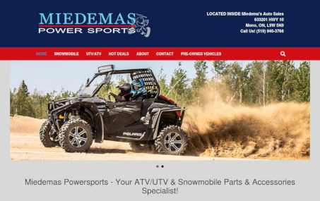miedemas powersports screenshot